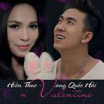 khuc ca tinh yeu (single) - felix vang, hien thuc