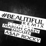 #beautiful (remix) (single) - mariah carey