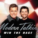 win the race - modern talking