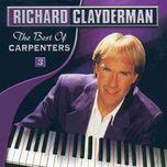 the best of carpenters - richard clayderman