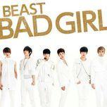 beast / b2st – bad girl (japanese ver - limited edition b) - beast