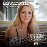 say something (single) - lee holyfield