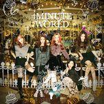 4minute world (mini album) - 4minute