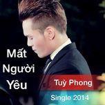 mat nguoi yeu (single) - tuy phong
