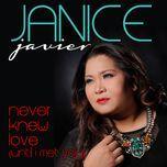 never knew love (until i met you) (single) - janice javier