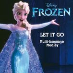 let it go (from frozen) (multi-language medley - single) - v.a