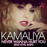 never wanna hurt you (bad love, baby) (remixes ep) - kamaliya