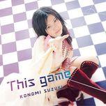 this game (single) - konomi suzuki