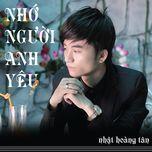 nho nguoi anh yeu (single) - khanh tan
