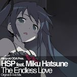 the endless love (single) - hanasoumen-p, hatsune miku