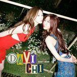 don't move (single) - davichi