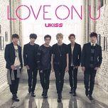 love on u (japanese single) - u-kiss