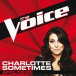 apologize (the voice performance) (single) - charlotte sometimes