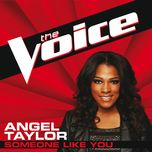 someone like you (the voice performance) (single) - angel taylor