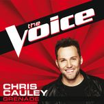 grenade (the voice performance) (single) - chris cauley