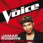seven nation army (the voice performance) (single) - jamar rogers