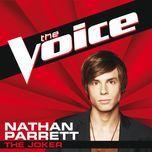 the joker (the voice performance) (single) - nathan parrett