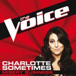 misery business (the voice performance) (single) - charlotte sometimes