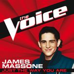 just the way you are (the voice performance) (single) - james massone