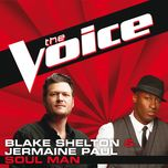 soul man (the voice performance) (single) - jermaine paul, blake shelton