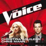 the prayer (the voice performance) (single) - chris mann, christina aguilera