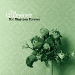 not nineteen forever (single) - the courteeners
