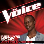ain't no sunshine (the voice performance) (single) - nelly's echo