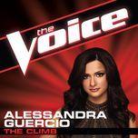 the climb (the voice performance) (single) - alessandra guercio
