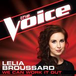 we can work it out (the voice performance) (single) - lelia broussard