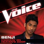 knockin' on heaven's door (the voice performance) (single) - benji
