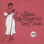 the complete ella fitzgerald song books - ella fitzgerald