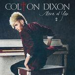 more of you (single) - colton dixon