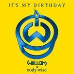 it's my birthday (single) - will.i.am, cody wise