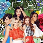 what are you waiting for? (ep) - the saturdays