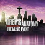 grey's anatomy: the music event - grey's anatomy cast