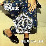 dress up (single) - boys republic