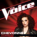 titanium (the voice performance) (single) - chevonne