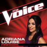 firework (the voice performance) (single) - adriana louise