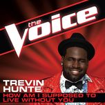 how am i supposed to live without you (the voice performance) (single) - trevin hunte