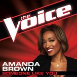 someone like you (the voice performance) (single) - amanda brown