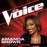 here i go again (the voice performance) (single) - amanda brown
