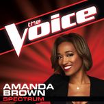 spectrum (the voice performance) (single) - amanda brown
