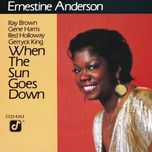 when the sun goes down - ernestine anderson