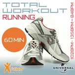 total workout running 102 - 135 - 84bpm ideal for jogging, running, treadmill & general fitness - v.a