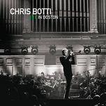 live in boston - chris botti