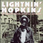 the complete prestige/bluesville recordings - lightnin' hopkins