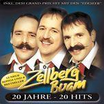 20 jahre - 20 hits - zellberg buam