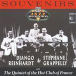 souvenirs - django reinhardt, stephane grappelli, quintet of the hot club of france