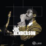 the definitive joe henderson - joe henderson