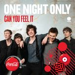 can you feel it (single) - one night only
